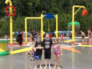 The kids love the splash pad at the East Athens Community Park!