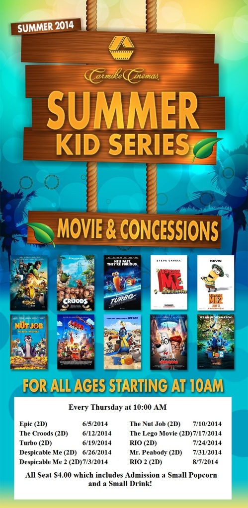 Carmike Summer Kid Series