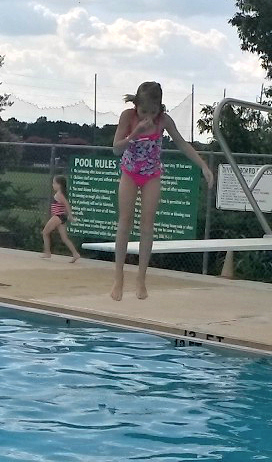 swimming lydia